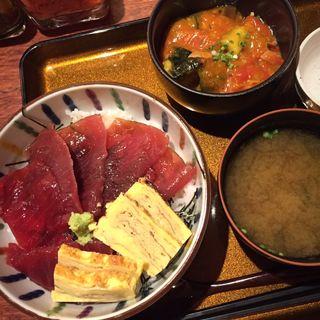 漬けマグロ丼(四季の味 さくれ )