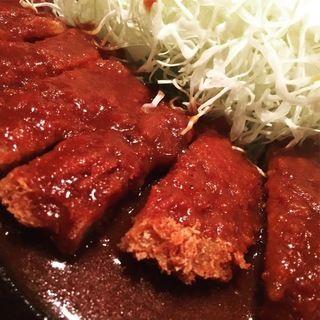 ビフカツ定食(味き多 (あじきた))