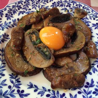ジャンボマッシュルームのプランチャ(モン・シルクロ )