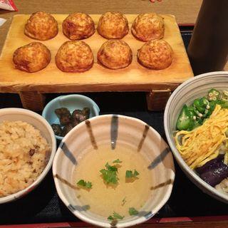 卵焼き涼風セット(茶房ひまわり イズミヤ洛北店 )