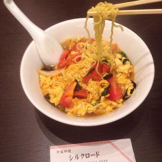 トマト玉子ラーメン(中国料理 シルクロード名駅店)
