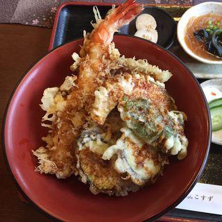大海老天丼(甘味cafe こすず)