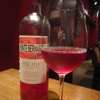 モンテ・ベルナルディ・ロゼ(エスターテ ~自然派ワインが中心のイタリアン~ )