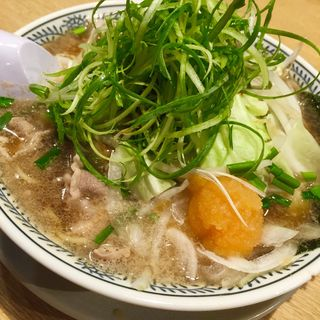 熟成醤油 野菜肉そば 819円(丸源ラーメン 宮前平店 )