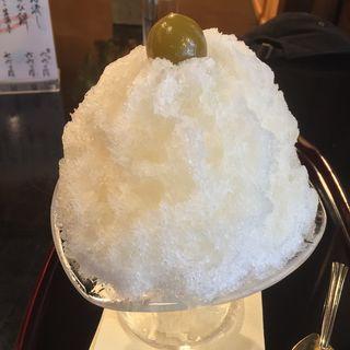 かき氷 梅酒みぞれ(栖園 (せいえん))