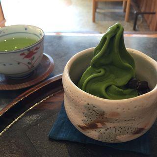 ソフトクリーム(寿ゞき園茶店 )