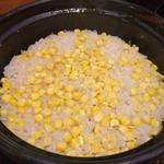 とうもろこしの土鍋ご飯