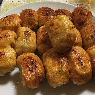 15個ライス(ホワイト餃子)