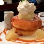 洋梨のパンケーキ