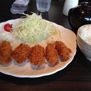 カキフライ定食(さかい珈琲 安城店 )