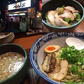 ゆず塩つけ麺(べらしお 中百舌鳥店 )