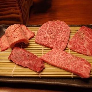 コースのお肉(肉処 香月 (かつき))