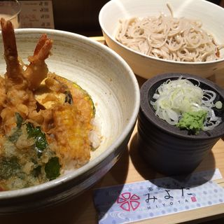 並天丼セット(蕎麦きり みよた)