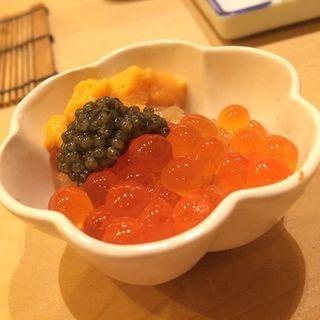 いくらウニキャビア(鮨 なんば )
