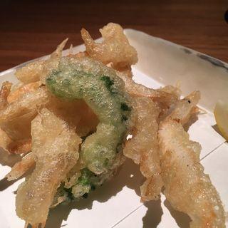 白えびの天ぷら(いふう )