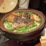 鰆の土鍋ご飯