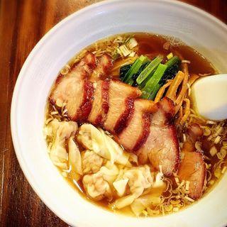 チャーシューワンタン麺(穀雨)
