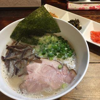 ド豚骨ラーメン(限定)(らぁめん つけめん 粋や (いなせや))
