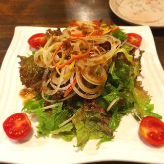 野菜いっぱいサラダ(嵐坊 (ランボウ))