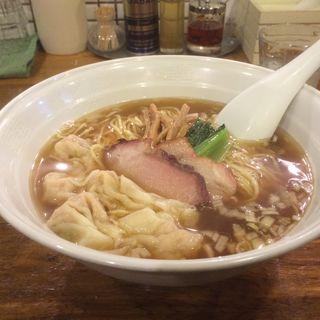 ワンタンメン(5個)(穀雨)