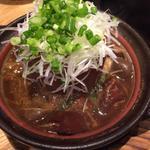 【銀政名物】大鍋で煮込んだ牛すじ大根