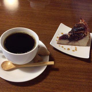 オーガニックコーヒーとイチジクの豆乳ヨーグルトケーキ(Slow Life (スローライフ))