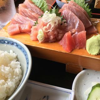 マグロ刺身定食(お富さん 君津店 )