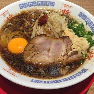 湯浅吟醸醤油ラーメン 生卵(ひしお 和歌山駅前店 (【旧店名】みその食堂))