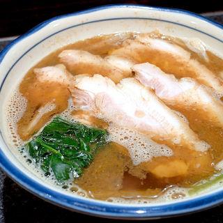 肉かけ(烈志笑魚油 麺香房 三く)