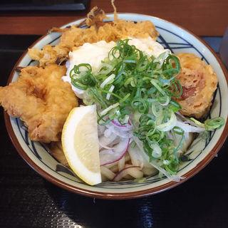 タルタル鶏天うどん(丸亀製麺 宝塚店 )
