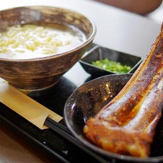 炙りソーキそば(琉球麺 茉屋 (マツヤ))