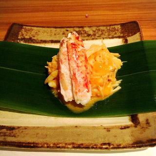 蟹ウニ蟹味噌和え(喜代寿司 )