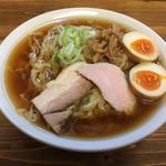 醤油味玉らー麺(くじら食堂 )
