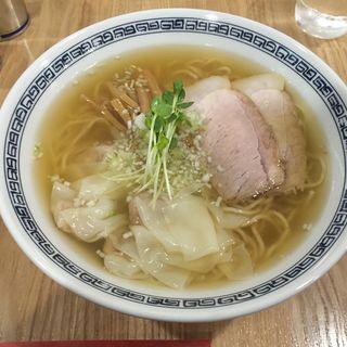 雲吞そば(塩)(熊野 )