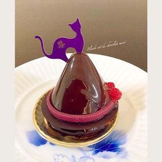 黒猫のスィートチョコレート(アンリ・シャルパンティエ大丸神戸店)