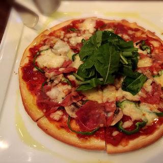 生ハムのピザ(ristorante match&832)