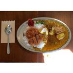 チキンカツカレー カマンベールチーズトッピング(サンデー スパイス (SUNDAY SPICE))