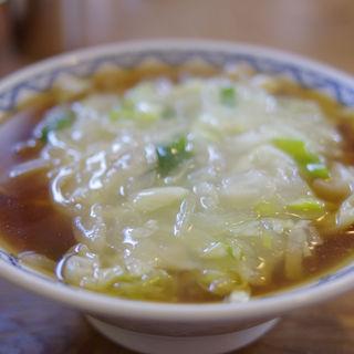 豚そば(安喜亭 本店 (あんきてい))
