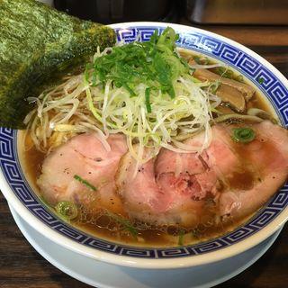 鴨煮干そば(丸め )