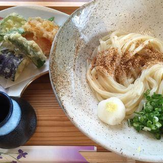 野菜天ぷらとうどんセット(たつや )