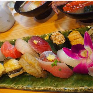 おまかせ握り鮨(寿司と地魚料理 大徳家 (だいとくや))