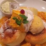 ふわふわスプレパンケーキ トロピカルマンゴー