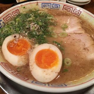 煮卵ラーメン(秀ちゃんラーメン)