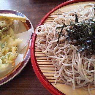 野菜天ざるそば(喜久家食堂 )