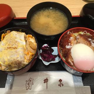 二色丼(上松丼亭 上野松坂屋店 )