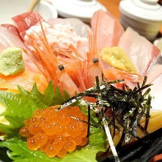 海鮮丼(華)(じもの亭)