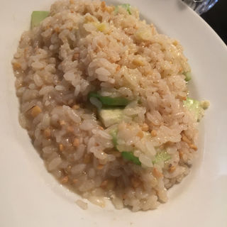 青瓜の五穀米リゾット(京野菜イタリアンバール UNO (ウーノ))