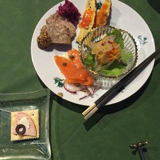 前菜の盛り合わせ(QUATRE SAISONS (クワトロ セゾン))