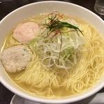 あら炊き塩らぁめん(大盛)(麺屋海神)