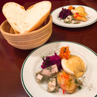 ランチ 前菜(BRASSERIE L'OBABON)